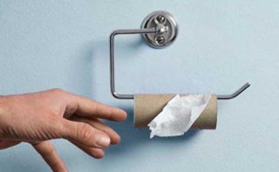 Khủng hoảng… giấy vệ sinh
