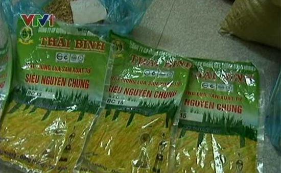Hà Nội: Thu giữ hơn 2 tấn lúa giống BC15 giả
