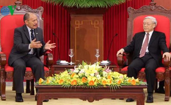 New Zealand coi trọng quan hệ hợp tác với Việt Nam
