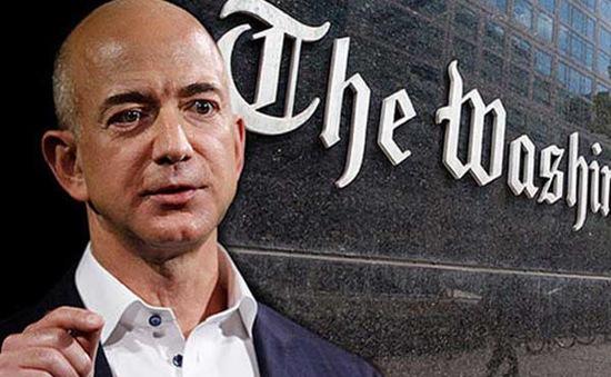 Chi 250 triệu USD, ông chủ Amazon thâu tóm Washington Post
