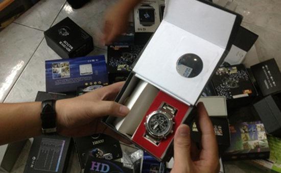 Hà Nội: Thu giữ hàng trăm thiết bị phá sóng, quay lén