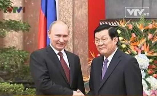 Chiêu đãi trọng thể Tổng thống Nga V.Putin