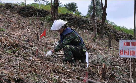 Khởi công dự án rà phá bom mìn tại Lạng Sơn, Cao Bằng
