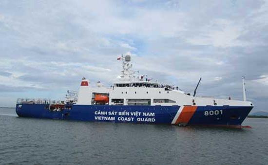 Cảnh sát biển tiếp nhận tàu tuần tra đa năng