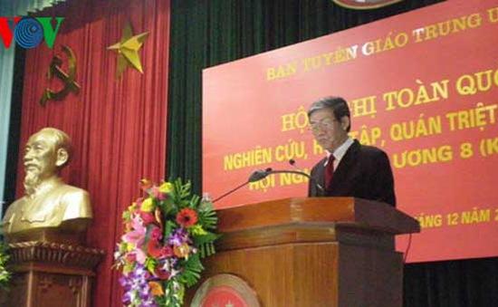 Hội nghị toàn quốc quán triệt Nghị quyết Trung ương 8