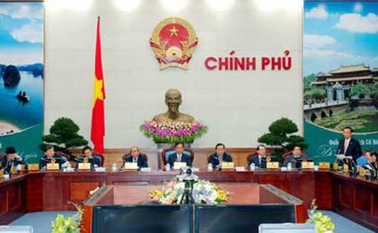 Chính phủ họp phiên thường kỳ tháng 2