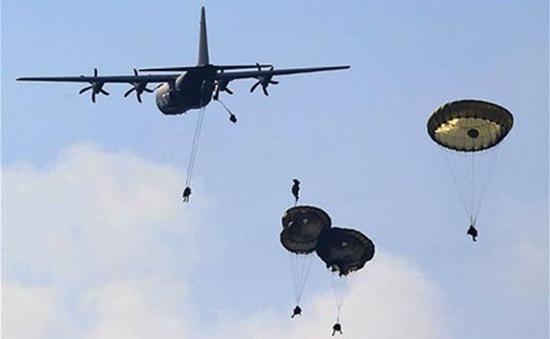 Binh sĩ Mỹ bắt đầu tập trận tại Latvia