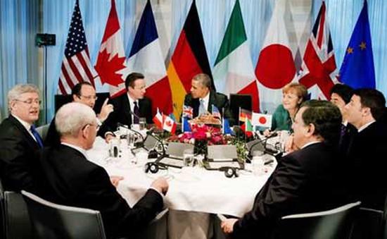 Nhóm G7 nhất trí áp đặt trừng phạt mới với Nga