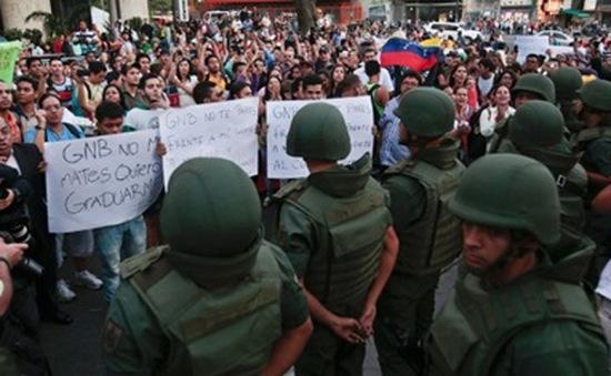 Venezuela lập lại trật tự tại khu vực biểu tình