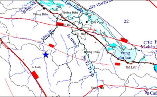 Động đất 4,7 độ Richter tại Thừa Thiên - Huế