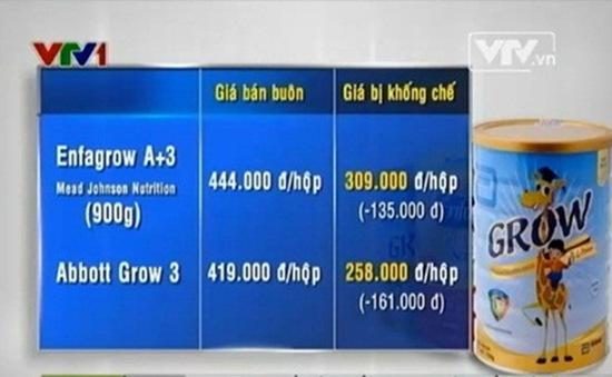 Quy định áp trần giá sữa: Doanh nghiệp băn khoăn