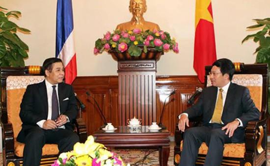 Phó Thủ tướng Phạm Bình Minh tiếp Quyền Bộ trưởng Ngoại giao Thái Lan