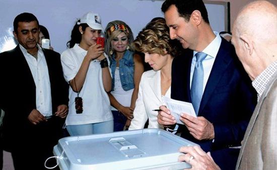 Tổng thống Syria Al-Assad đắc cử nhiệm kỳ 3