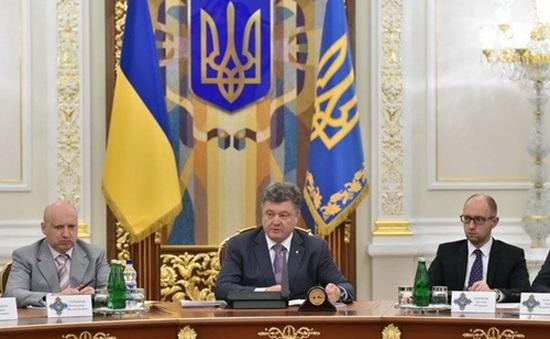 Ukraine: Tổng thống cam kết đơn phương ngừng bắn