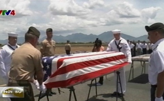 Việt Nam tổ chức trao trả hài cốt lính Mỹ