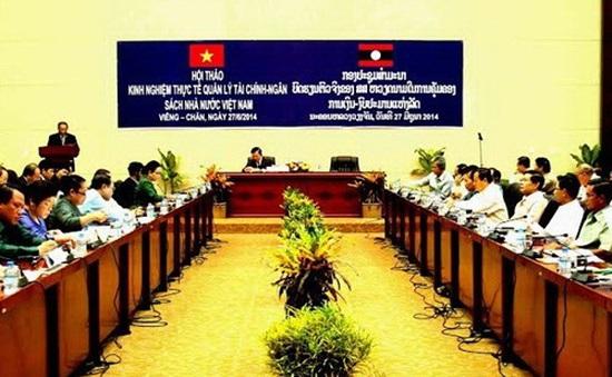 Việt Nam - Lào chia sẻ kinh nghiệm quản lý ngân sách nhà nước