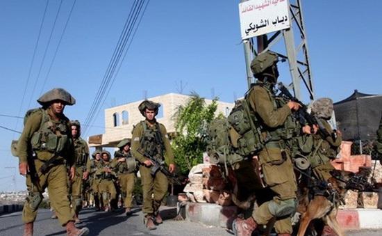 Israel tăng quân ở khu vực giáp Dải Gaza