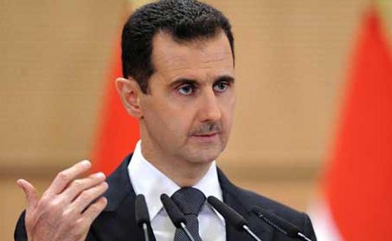 """Tổng thống Syria cáo buộc phương Tây ủng hộ """"chủ nghĩa khủng bố"""""""