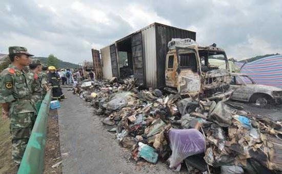 Trung Quốc: 38 người thiệt mạng trong vụ va chạm ô tô