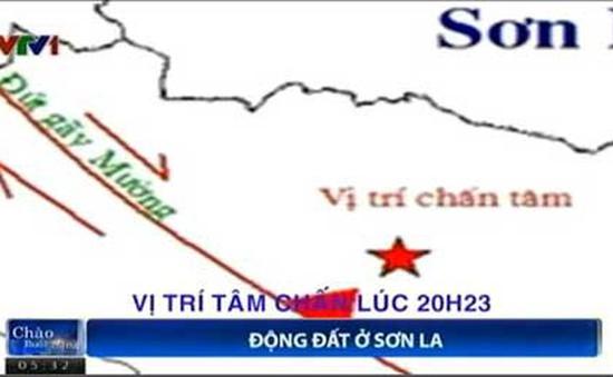 Động đất 4,3 độ richter tại Sơn La