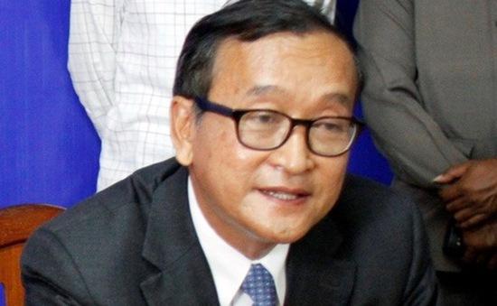 Quốc hội Campuchia chấp thuận ông Sam Rainsy là nghị sỹ