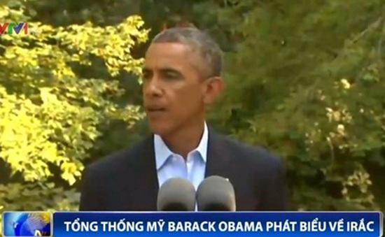 Tổng thống Obama thể hiện quan điểm của Mỹ về Iraq