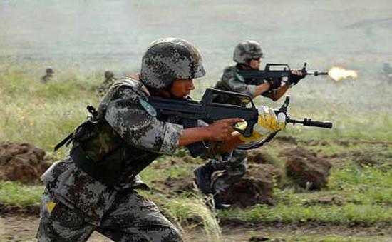 Nga tham gia diễn tập chống khủng bố tại Trung Quốc