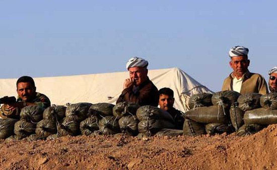 Iraq: Máy bay Mỹ hỗ trợ lực lượng người Kurd tái chiếm đập Mosul
