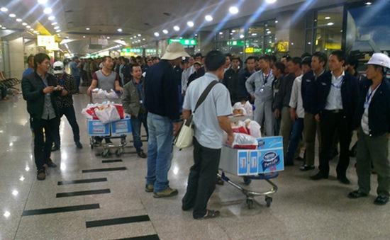 Thêm 33 lao động Việt Nam tại Libya về nước