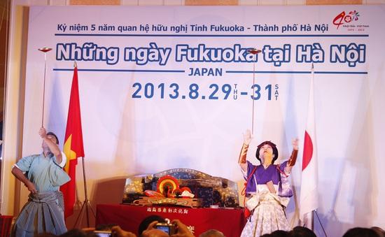 """Khám phá Nhật Bản qua """"Những ngày Fukuoka tại Hà Nội"""""""