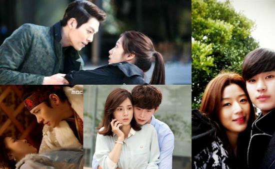 7 cặp đôi đẹp nhất trên màn ảnh xứ Hàn
