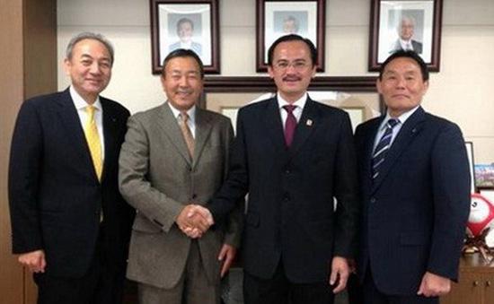 VPF làm việc chính thức với ông Tanaka Koji
