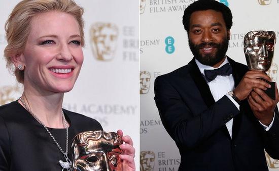 12 Years a Slave tiếp tục thắng lớn tại giải thưởng của Anh