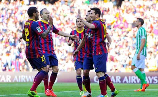 Cầu thủ Barcelona giàu nhất thế giới
