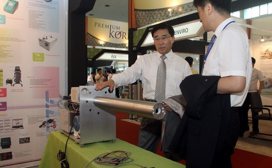 Hàn Quốc giới thiệu công nghệ môi trường tiên tiến tại Entech 2014