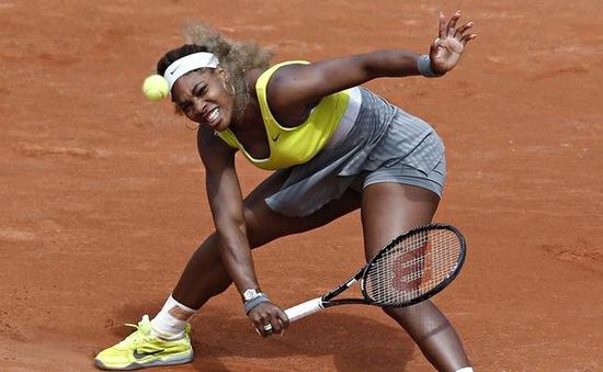 Sốc: Serena Williams đại bại trước tay vợt vô danh ở vòng 2 Pháp mở rộng