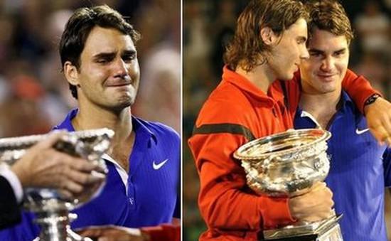 Roger Federer - người đàn ông hay khóc