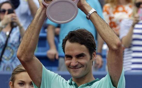Thắng Ferer, Tàu tốc hành Federer có chức vô địch Cincinnati lần thứ 6