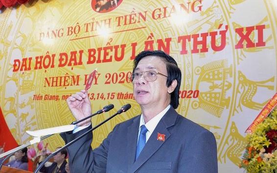 Ông Nguyễn Văn Danh tái đắc cử Bí thư Tỉnh ủy Tiền Giang nhiệm kỳ 2020-2025