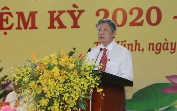 Ông Ngô Chí Cường được bầu làm Bí thư Tỉnh ủy Trà Vinh