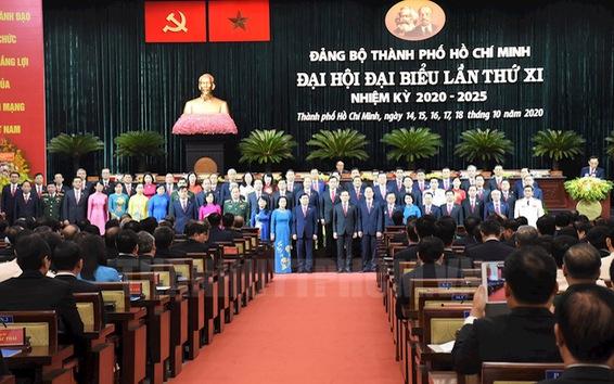 Ra mắt Ban Chấp hành Đảng bộ TP.HCM khóa XI, nhiệm kỳ 2020-2025