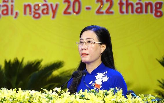 Bà Bùi Thị Quỳnh Vân tái đắc cử Bí thư Tỉnh ủy Quảng Ngãi