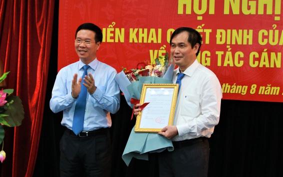 Ông Phan Xuân Thủy giữ chức Phó Trưởng ban Tuyên giáo Trung ương
