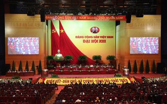 Ngày 30/1 - Ngày thứ 3 liên tiếp Đại hội XIII xem xét về công tác nhân sự