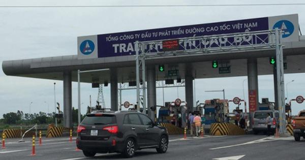 Bắt đầu thử nghiệm thu phí tự động trên cao tốc Cầu Giẽ - Ninh Bình