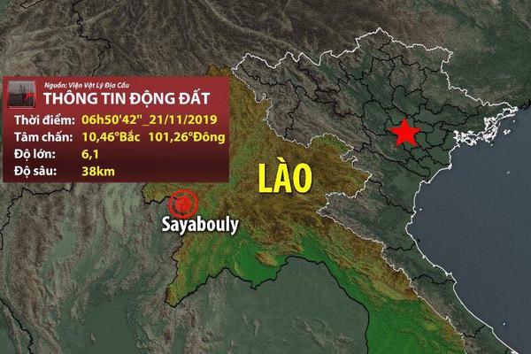 Động đất 6,1 độ richter ở Lào, nhiều chung cư tại Hà Nội rung lắc