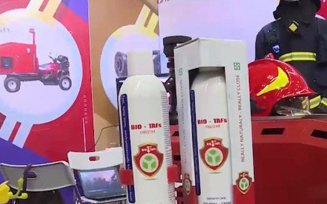 Advanced fire fighting technologies on display in HCM city