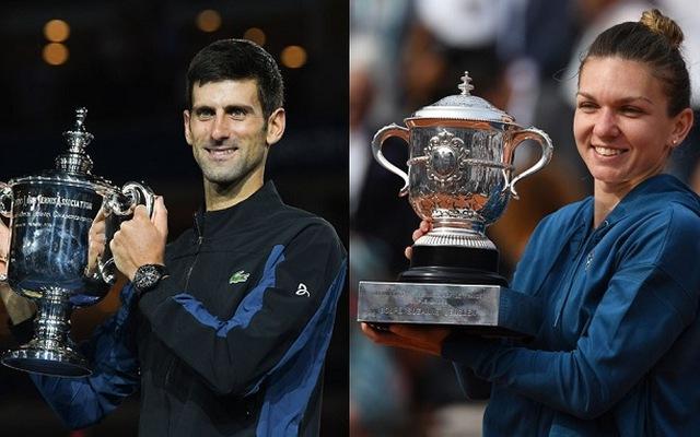Djokovic and Halep named 2018 ITF World Champions