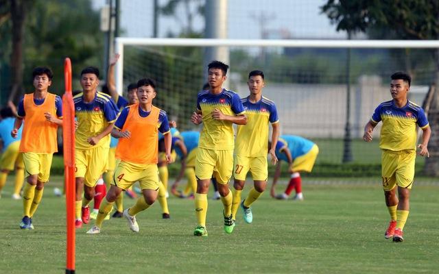 Đội tuyển U19 Việt Nam và những màn luyện tập cực dị - tin thể thao mới nhất 23/8