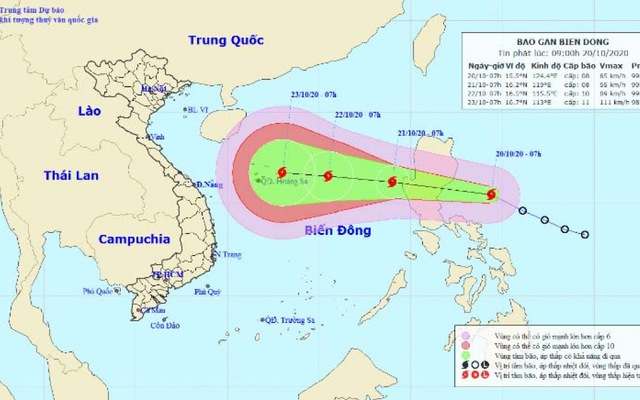 Another storm forms, heading toward central Vietnam